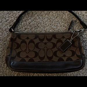 AUTHENTIC COACH SMALL SHOULDER BAG/CLUTCH